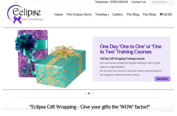 Eclipse Gift Wrapping
