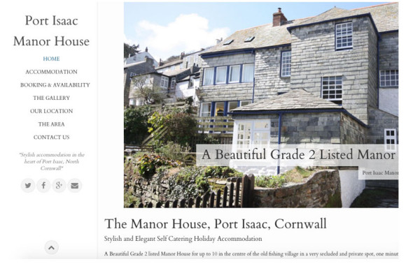 Port Isaac Manor House